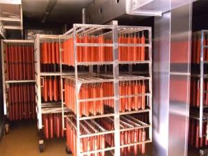 Klimatizirane komore za zorenje in sušenje trajnih suhomesnatih proizvodov